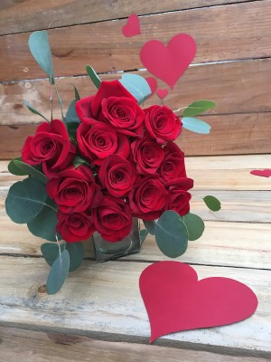 Be Mine - Valentine's Day Red Rose Bouquet