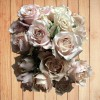 sand colored spray roses