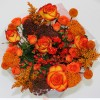 Orange Mix Centerpiece Large