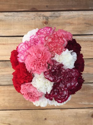 Forever Yours - Mixed Carnations Bouquet