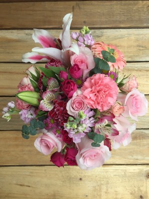 Sweetness - Colorful Pink Bouquet
