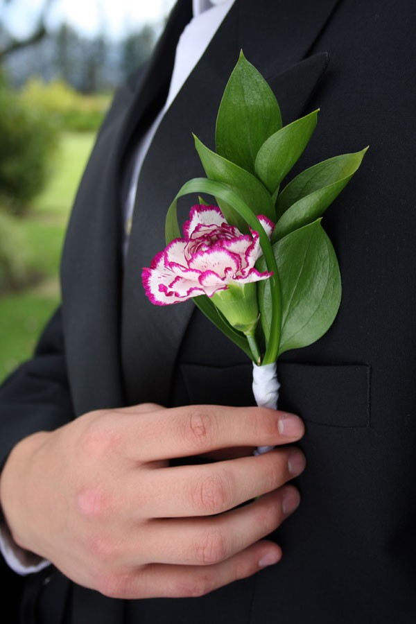 Carnation Boutonnieres