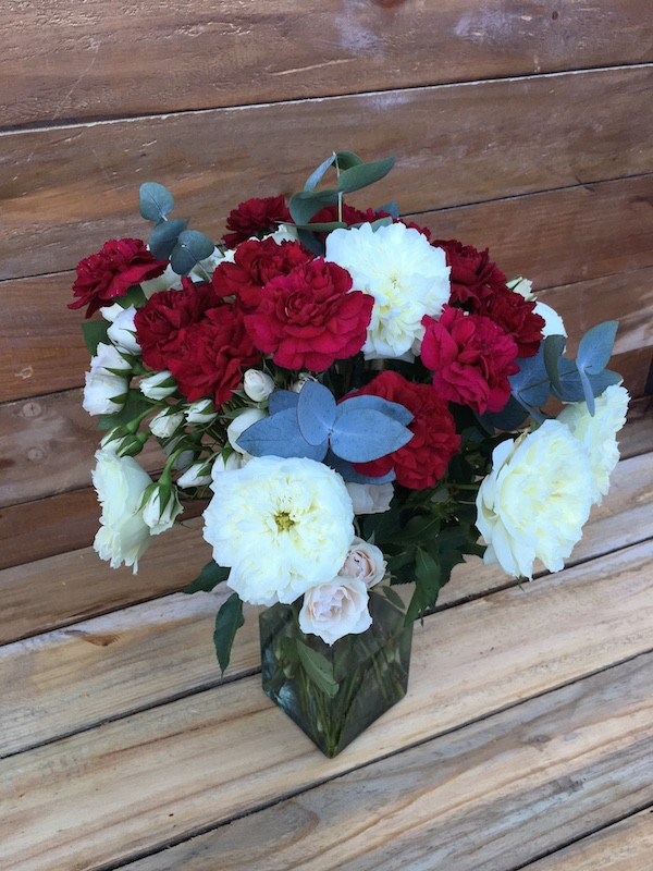 Carnation and Roses Bouquet