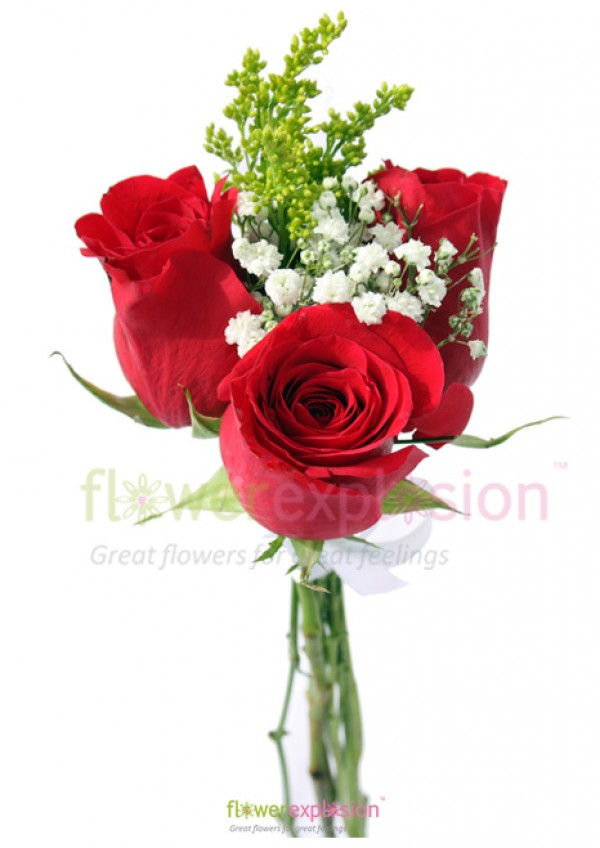 Three Roses - Fundraising Bouquets