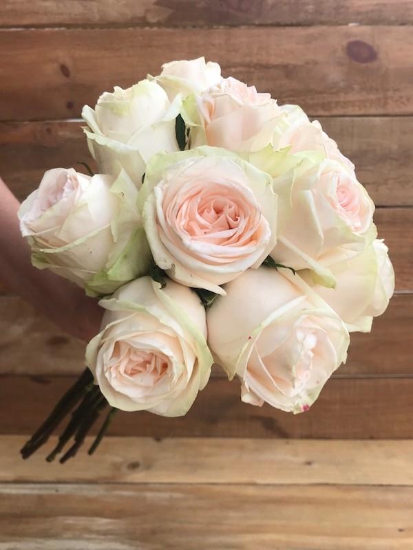 garden spirit rose bouquet