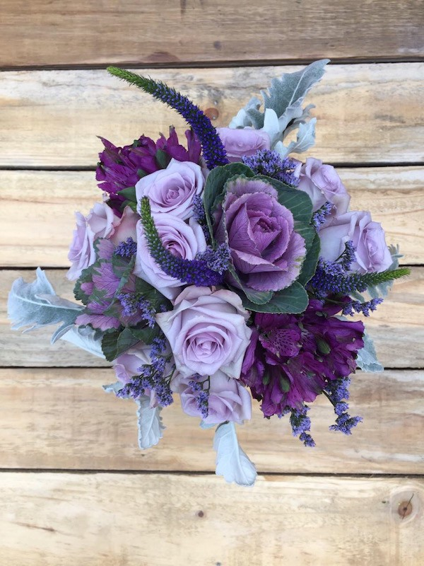 Goddess - Mixed Lavender Flowers Bouquet