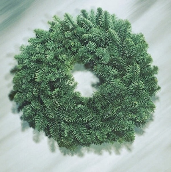 holiday cheer fir wreath