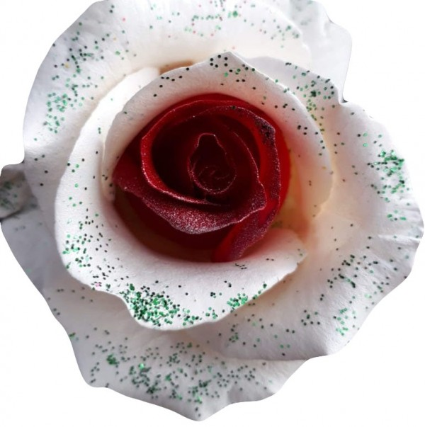 holiday frosting roses
