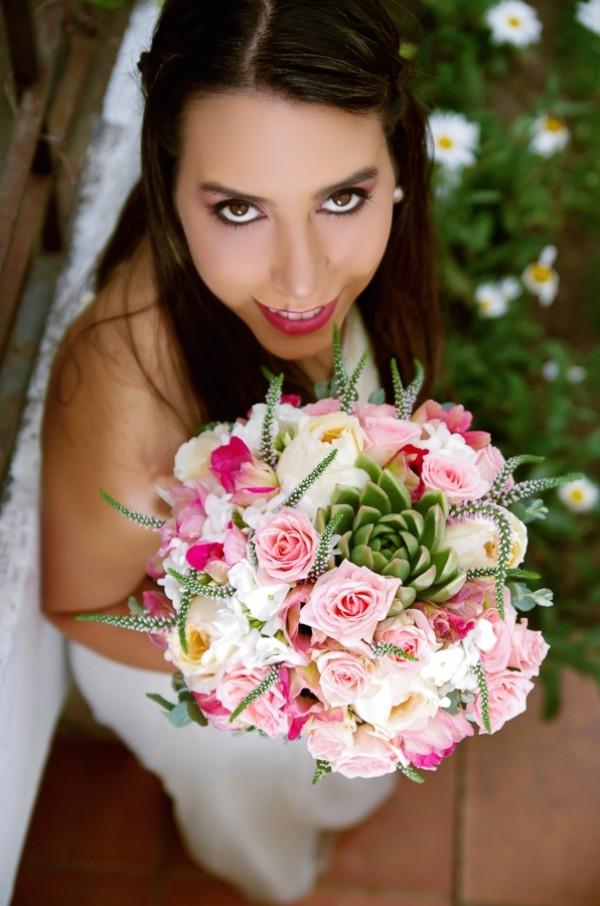 Veronicas Bridal Bouquet