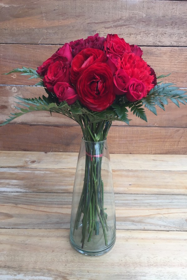 Tango Mixed Red Bouquet