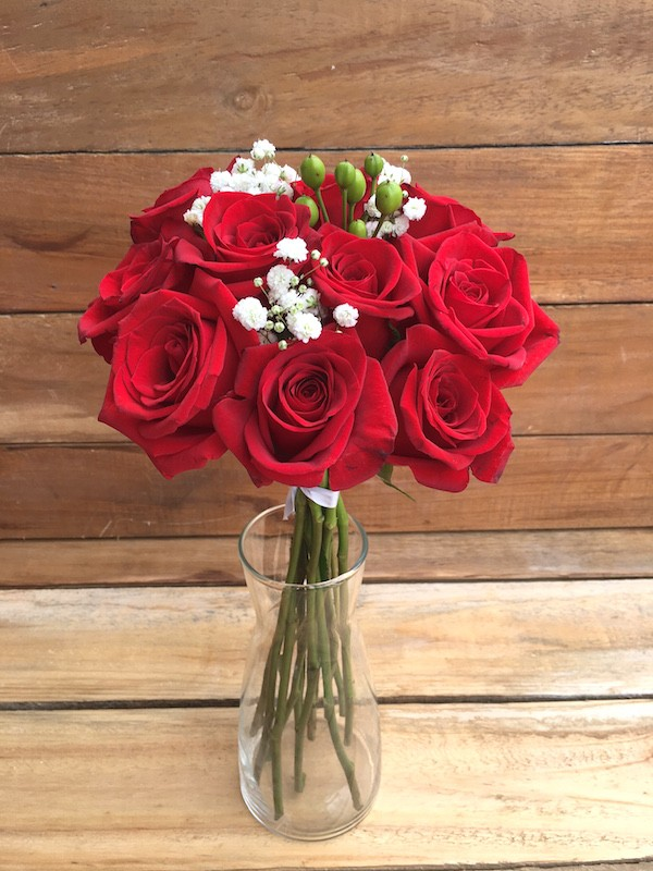 12 Roses Valentine's Day Bouquet